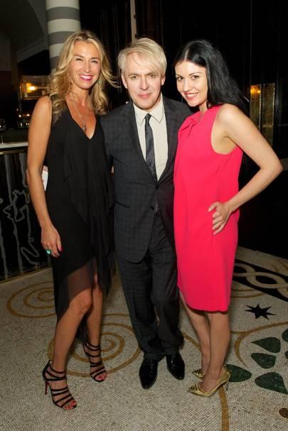 Anastasia Webster, Nick Rhodes and Nefer Suvio