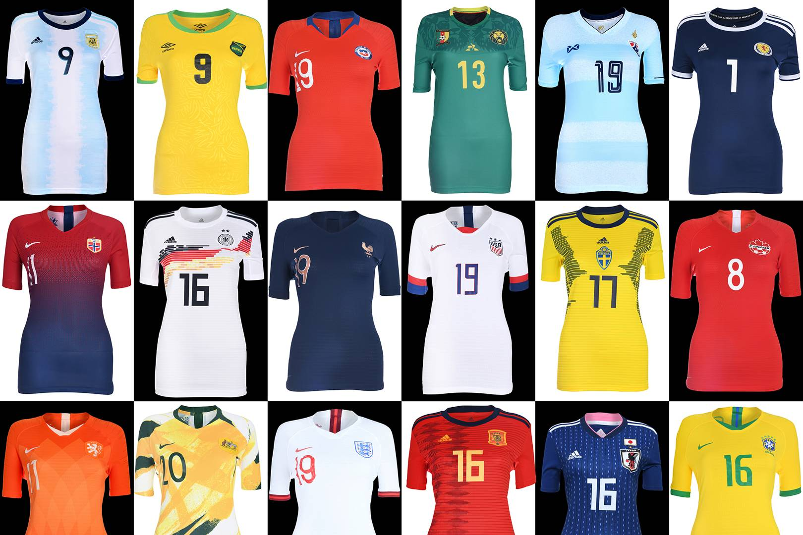 0d48d8ff1ff Women's World Cup 2019 kits ranked: from worst to best | British GQ
