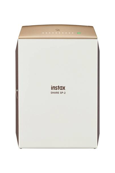 Fujifilm Instax Share SP-2 Mobile Photo Printer with 10 Shots, Gold
