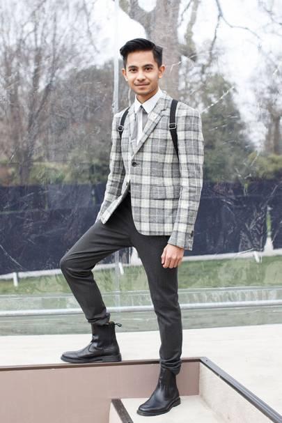 Nebil Aliffi, fashion editor