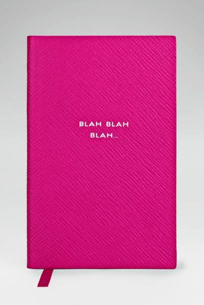 Smythson's Panama notebook
