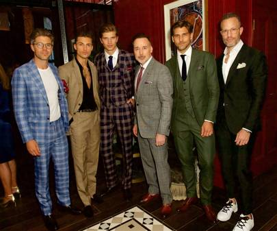 Darren Kennedy, Harvey Newton-Haydon, Toby Huntington-Whitley, David Furnish, Johannes Huebl and Andrew Weitz
