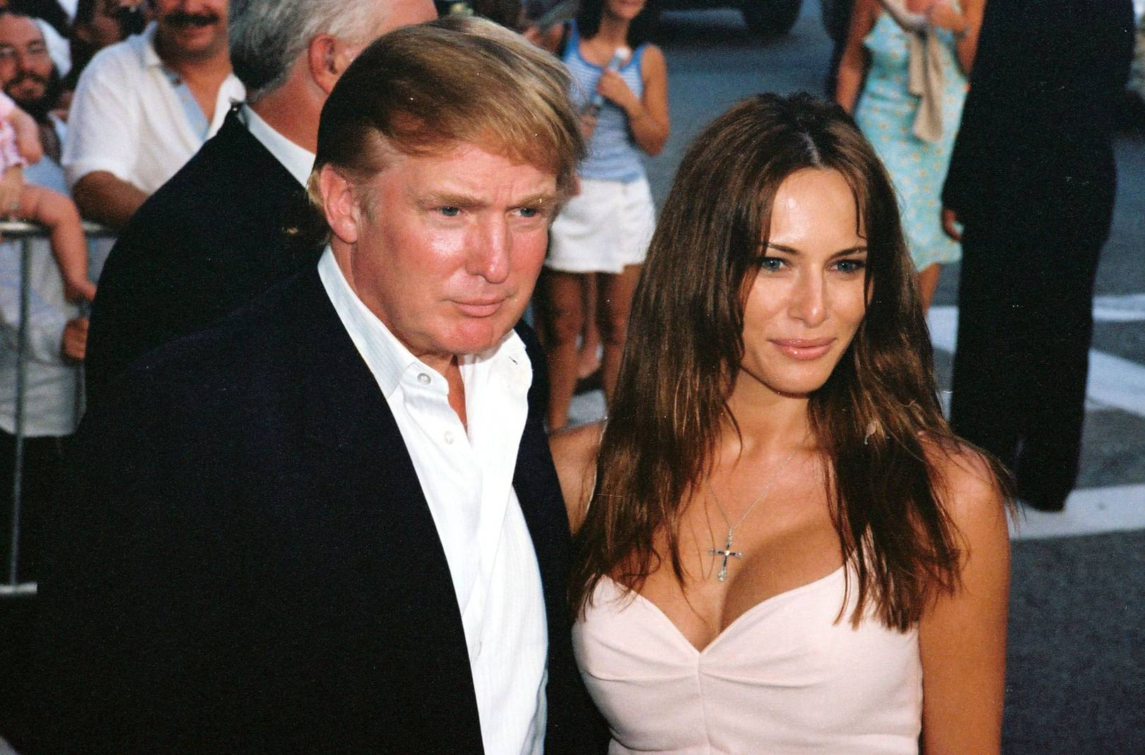 Image result for photo of melania and trump