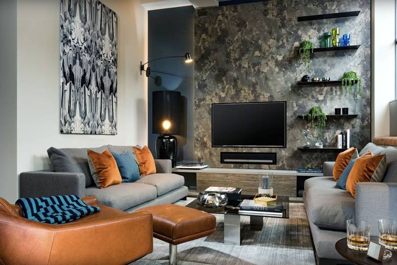 How to style your living room with designer daniel hopwood - Living room design ideas and photos ...