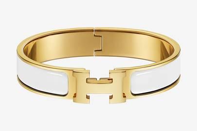 Clic H bracelet by Hermès