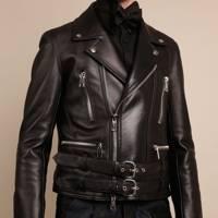 Custom leather jacket by Joshua Kane