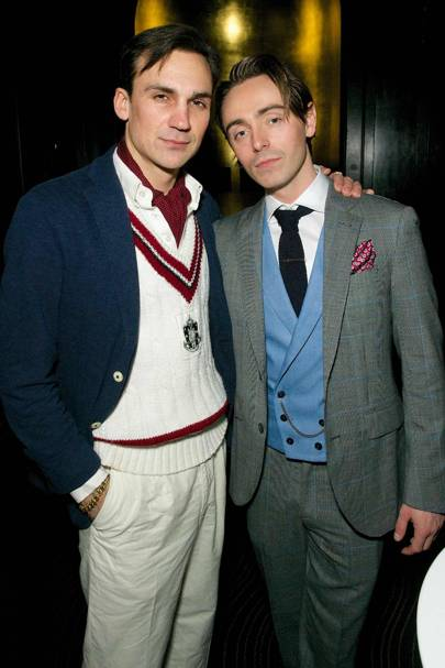 David Dawson and Henry Lloyd-Hughes