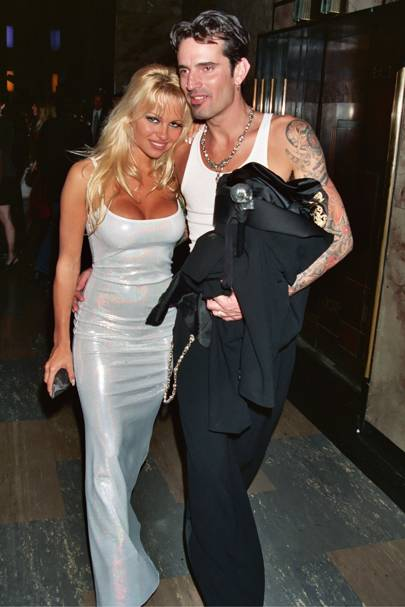 1995: Pamela Anderson and Tommy Lee
