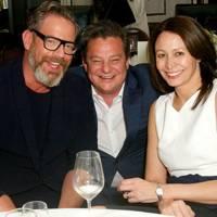 Daniel Marks, Robert Johnston and Caroline Rush
