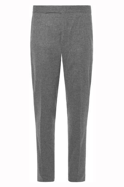 Pleated flannel trousers by Polo Ralph Lauren