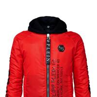 This uber-cool jacket from Philipp Plein's new No Mercy On Mercer Street collection plays neatly into the current logo-centric trend.