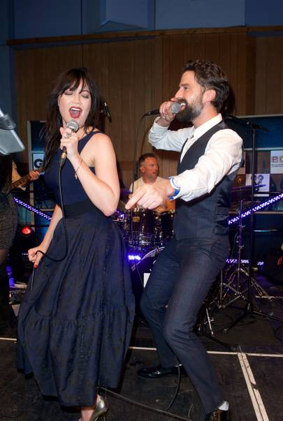 Daisy Lowe and Jack Guinness