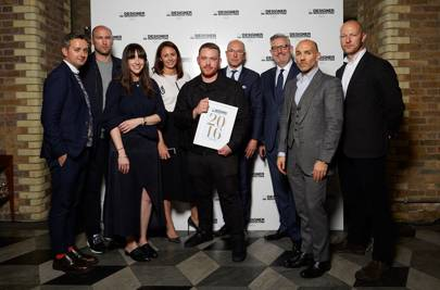 BFC/GQ Designer Menswear Fund 2016 judging panel and Craig Green