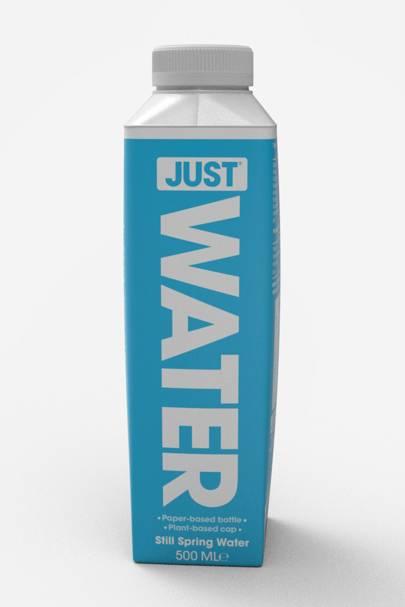 Just Water UK Paper-based Carton