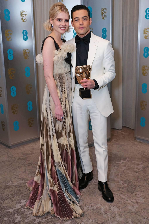 936641202e9d Rami Malek and Lucy Boynton s best couple looks