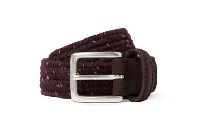 Anderson's flecked weave belt