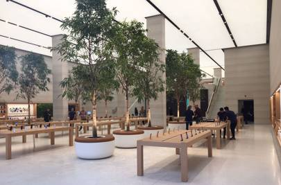 The new Apple Store Regent Street features 12