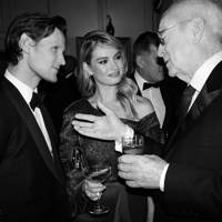 Ellie Bamber, Matt Smith, Lily James, Sir Michael Caine