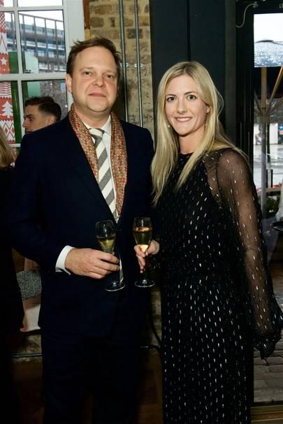 Nick Sargent and Becky Lucas