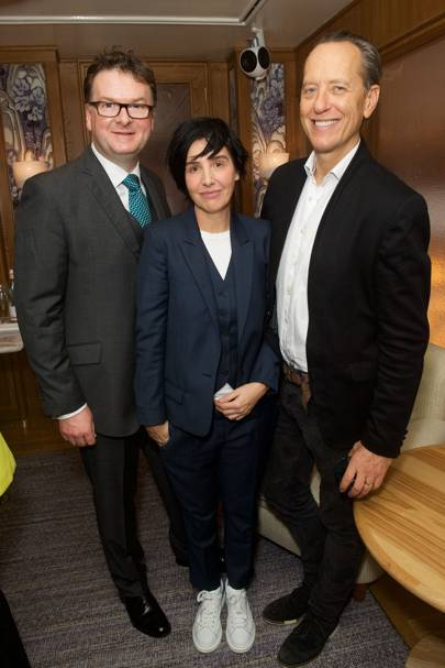 Ewan Venters, Sharleen Spiteri and Richard E Grant