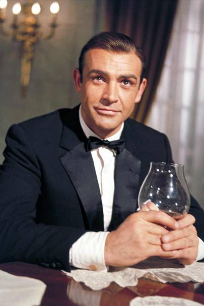 Sean Connery as James Bond in Goldfinger (1964).