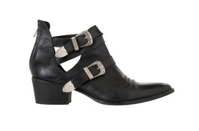 The Kooples black leather boots