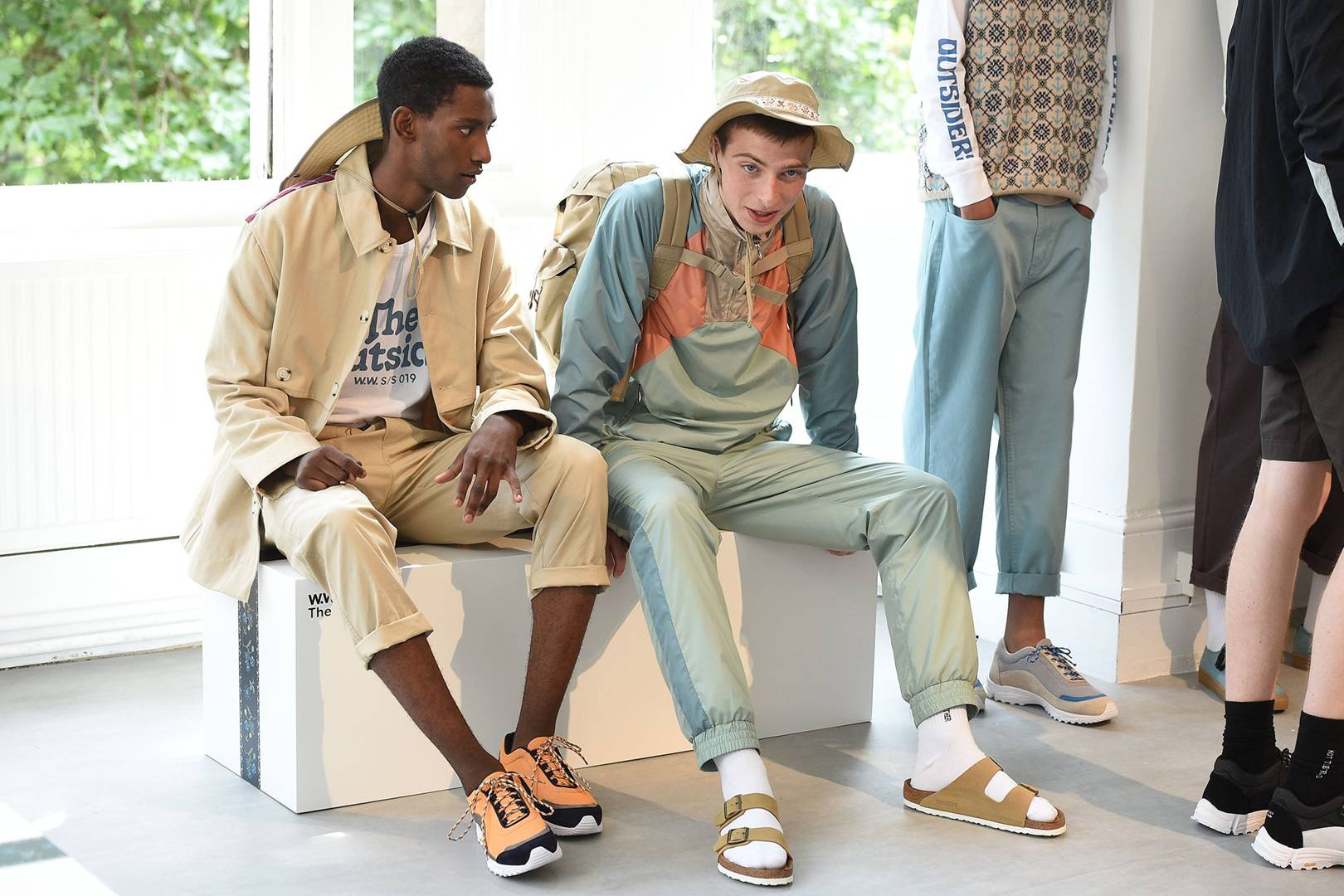 85290bc8fd72 Top trends  London Fashion Week Men s SS19