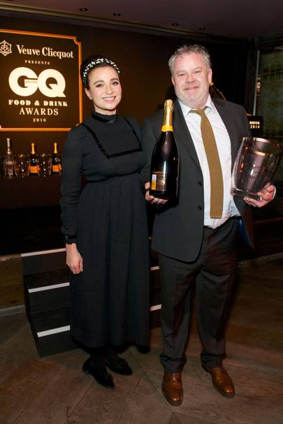 Gizzi Erskine and Stephen Harris