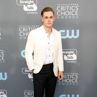 Dacre Montgomery in Brunello Cucinelli with Tod's shoes and a Montblanc watch and cufflinks