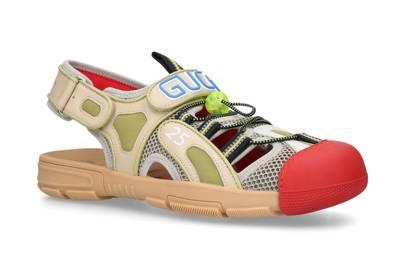 16. Gucci Tinsel Hiking Sandals
