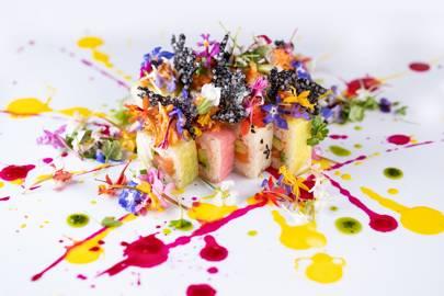 Sushisamba 'In Bloom' menu at Covent Garden