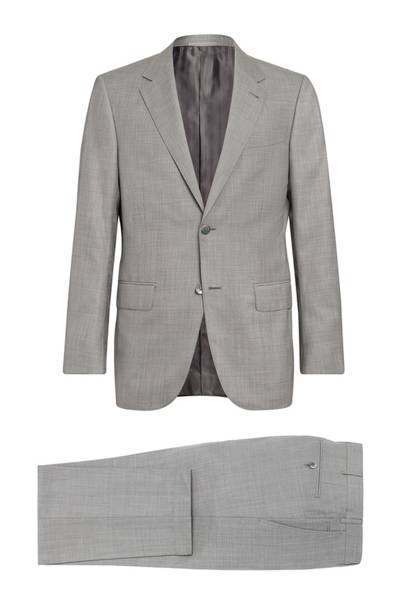 Trofeo 600 Wool & Silk Suit by Zegna