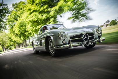 The Mercedes 300SL Gullwing is the epitome of Fifties cool