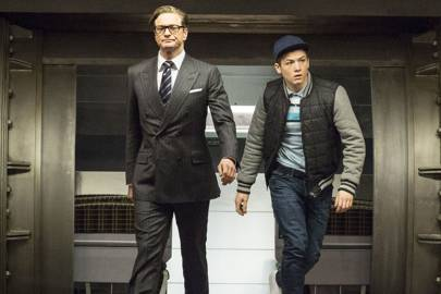 The Kingsmen in conversation: Colin Firth and Taron Egerton