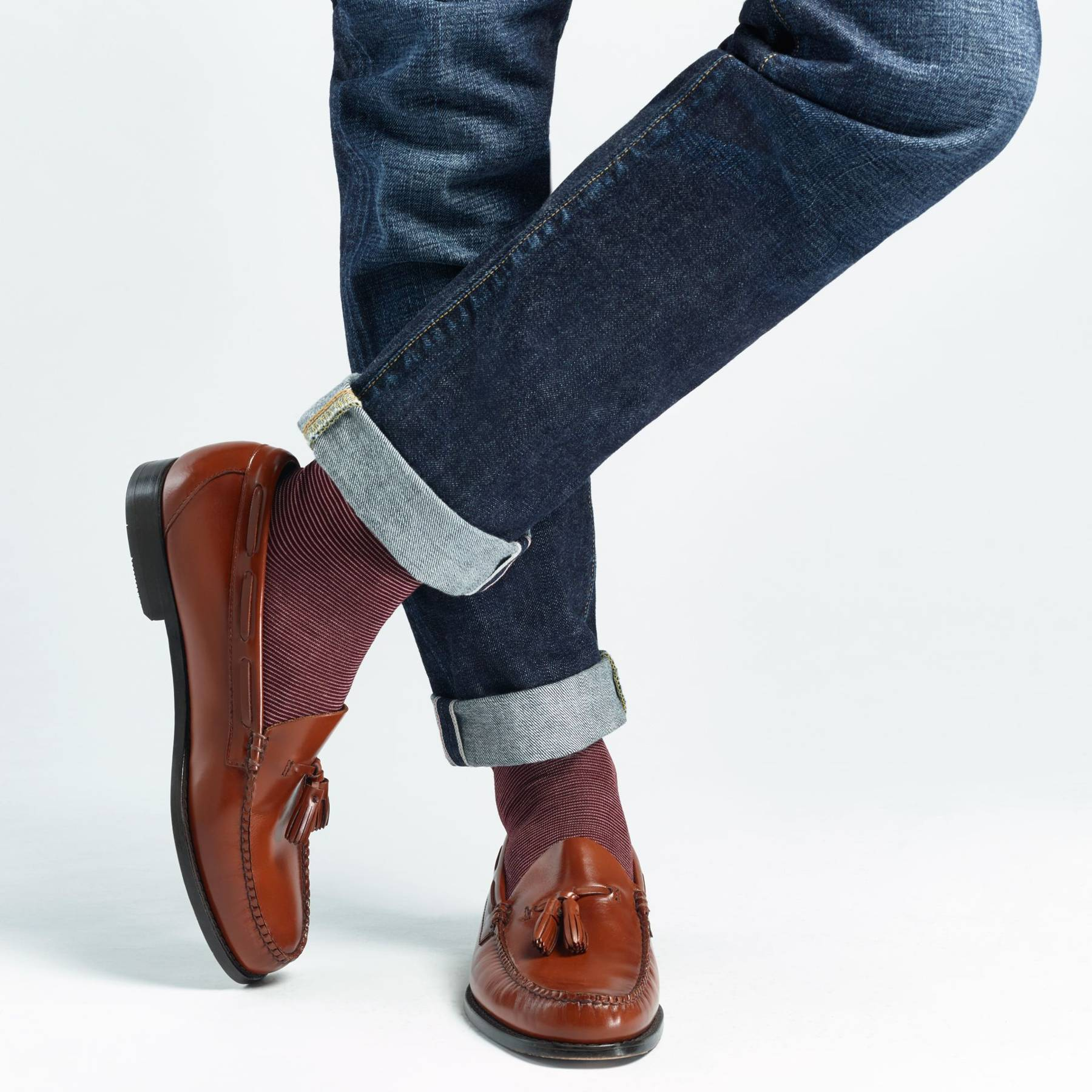 80f5f653966 How to wear loafers