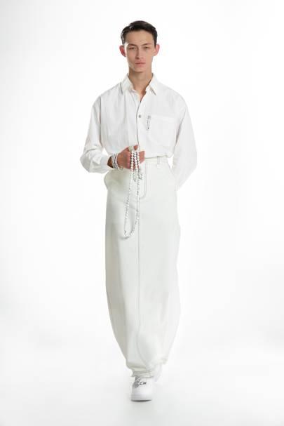 6068d8eb2406 Xander Zhou Spring/Summer 2019 Menswear show report | British GQ