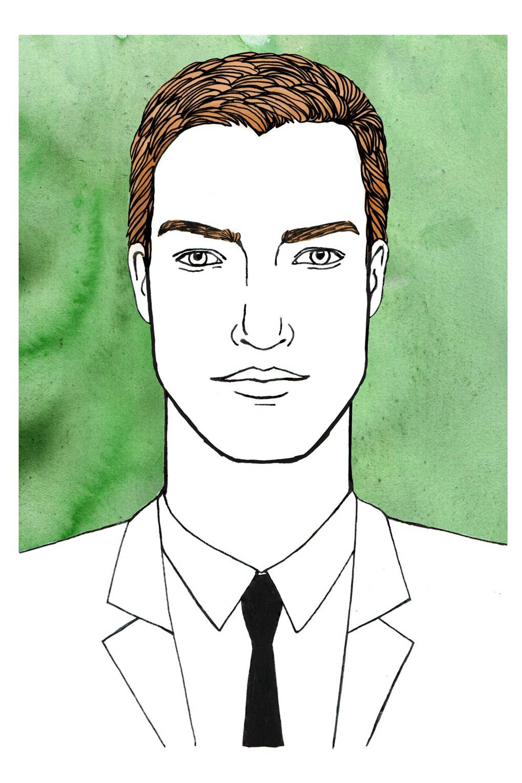 men's hairstyles for different face shapes | british gq