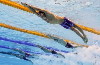 Olympics Day 3: Underwater