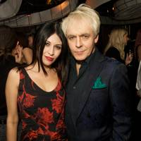Never Suvio and Nick Rhodes