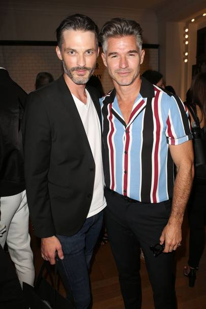 Eric Rutherford (right)