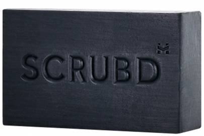 Charcoal and black pepper soap by Scrubd