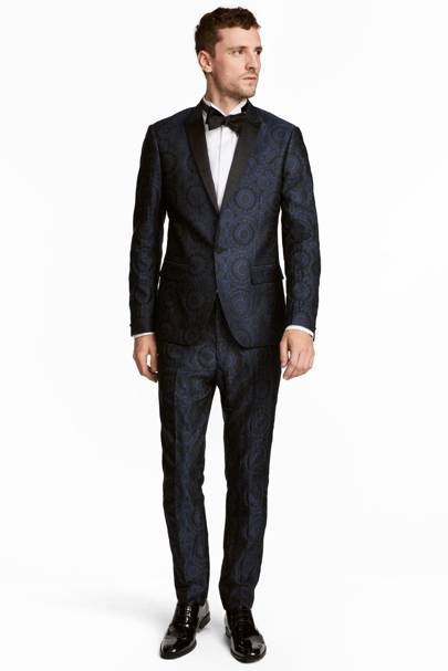 Patterned tuxedo by H&M