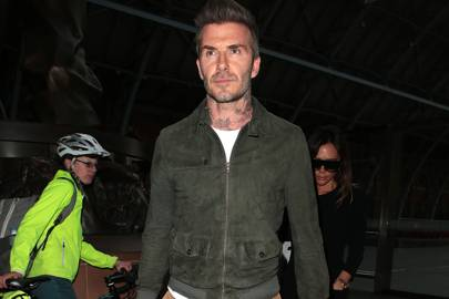 David Beckham has got the best luggage game in the world