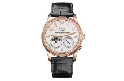 Monterubello Travel Watch by Ermenegildo Zegna