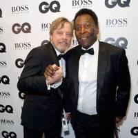 Mark Hamill and Pelé