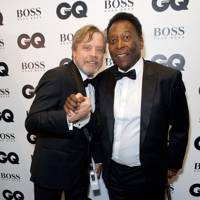 Mark Hamill and Pelé