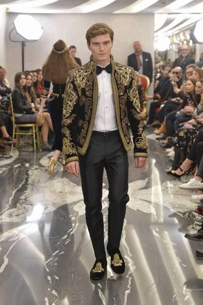 478341d50624 Dolce   Gabbana - Alta Sartoria Cruise 2018 Menswear show report ...