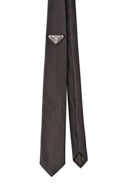 Nylon tie by Prada