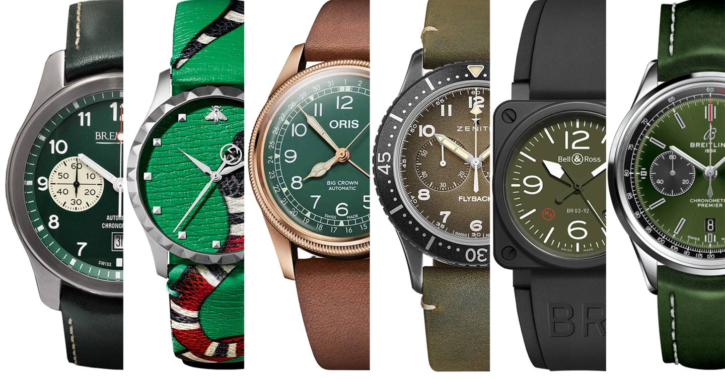 6 of the best green watches