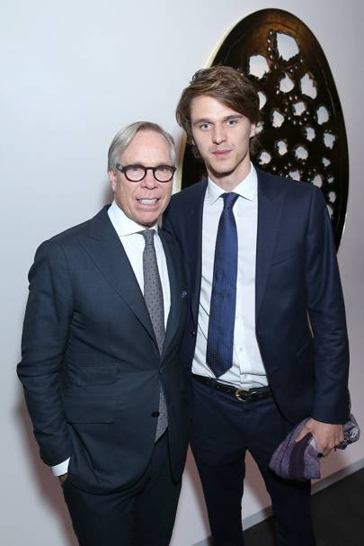 Tommy Hilfiger and Tara Ferry
